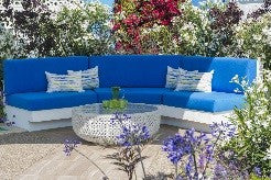 bright colors for your patio