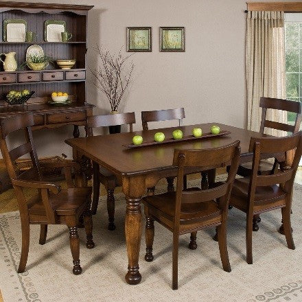 belleville leg dining table