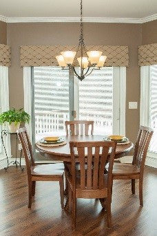Solid wood small dining sets
