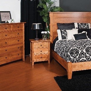 Bungalow solid wood bed