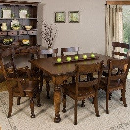 solid wood Farmhouse style dining sets