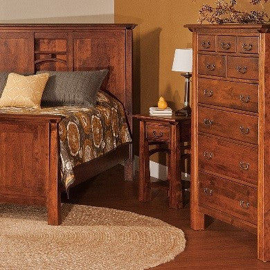 artesa dresser and bed
