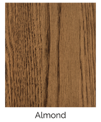 Red Oak Almond Stain