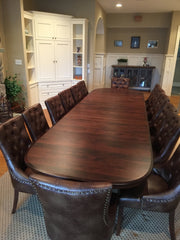 Amish Tables Chancellor Double Pedestal Table