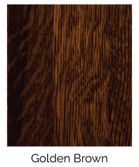 Quarter Sawn White Oak Golden Brown