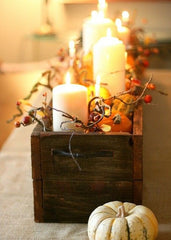 Amish Tables Fall Decor Inspiration