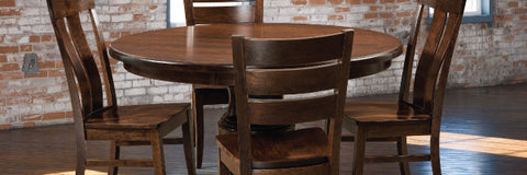 Amish Small Dining Tables and Sets