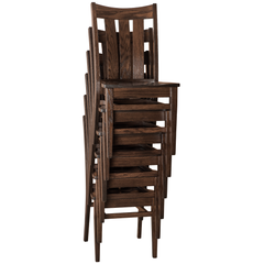 amish tables stacking dining chair