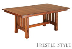 Trestle Style Table