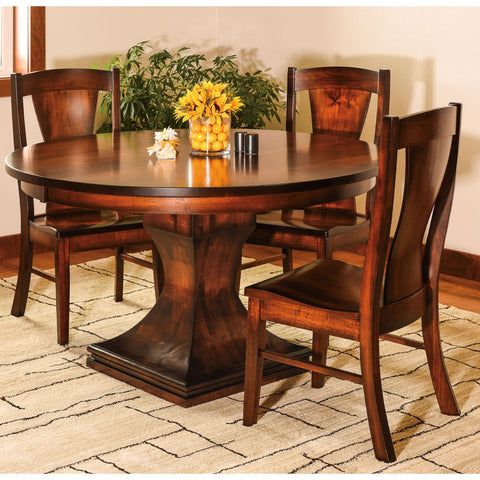 Amish Tables Westin Single Pedestal Table