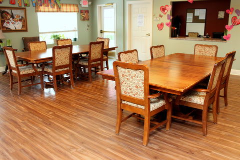 Amish Hardwood Dining Tables