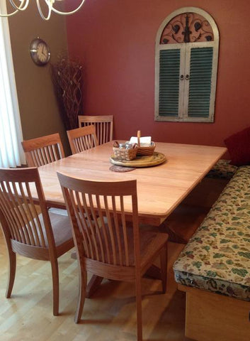 amish tables baytown dining room set