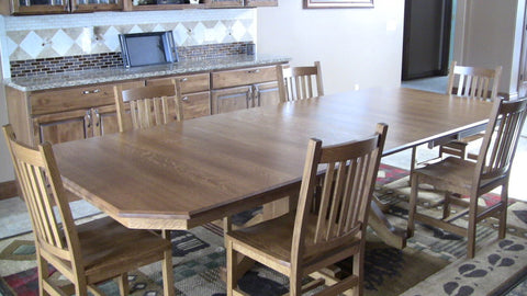 amish tables extension dining room tables
