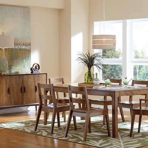 Amish Tables Solid Wood Copenhagen Dining Collection