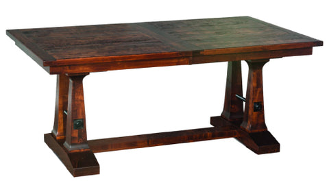 Amish Tables Vienna Solid Wood Trestle Table