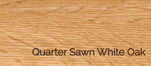 Quarter Sawn White Oak Wood and Stains