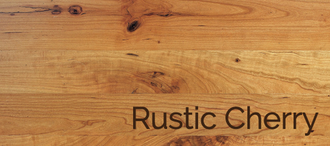 Rustic Cherry Wood & Stains
