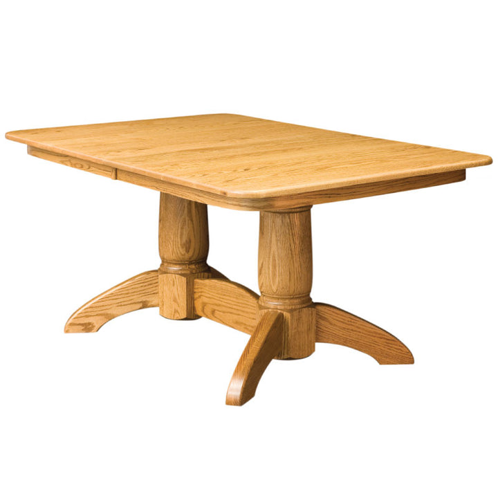Tuscan Double Pedestal Extension Table