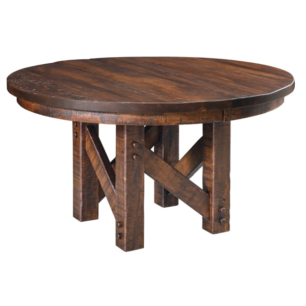 Quick Ship Denver Pedestal Extension Table