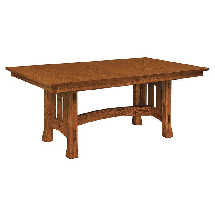 Quick Ship Olde Century Mission Trestle Extension Table