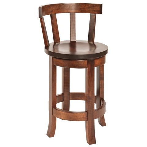 Meribeth Back Belmont Bar Stool - Amish Tables  - 1