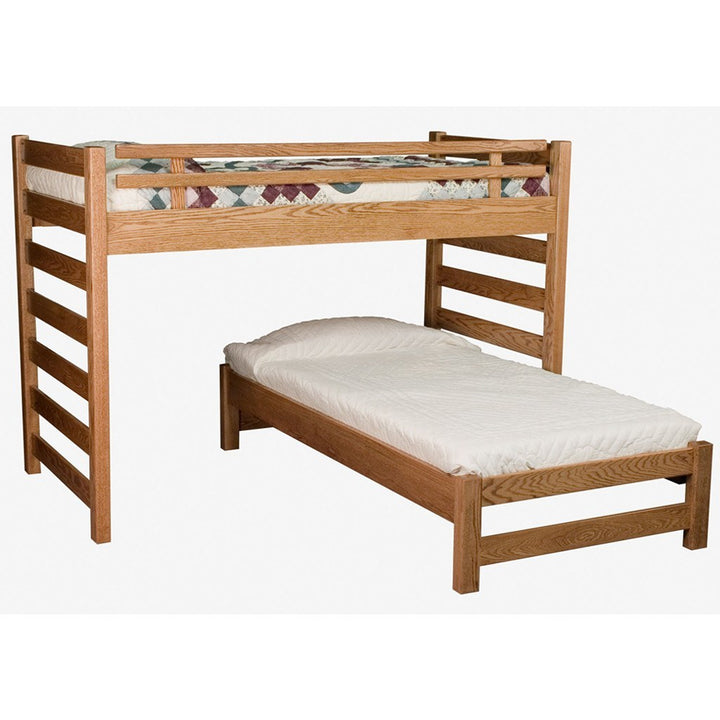 Ladder Loft Bunk Bed - Amish Tables  - 1