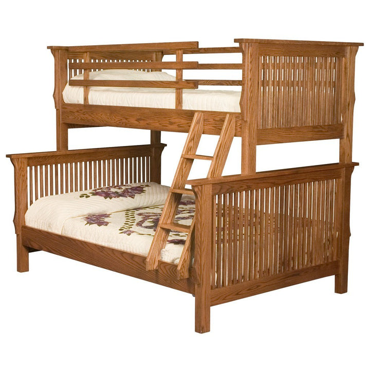Mission Bunk Bed - Amish Tables  - 1