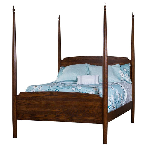Pencil Post Bed - Amish Tables  - 1