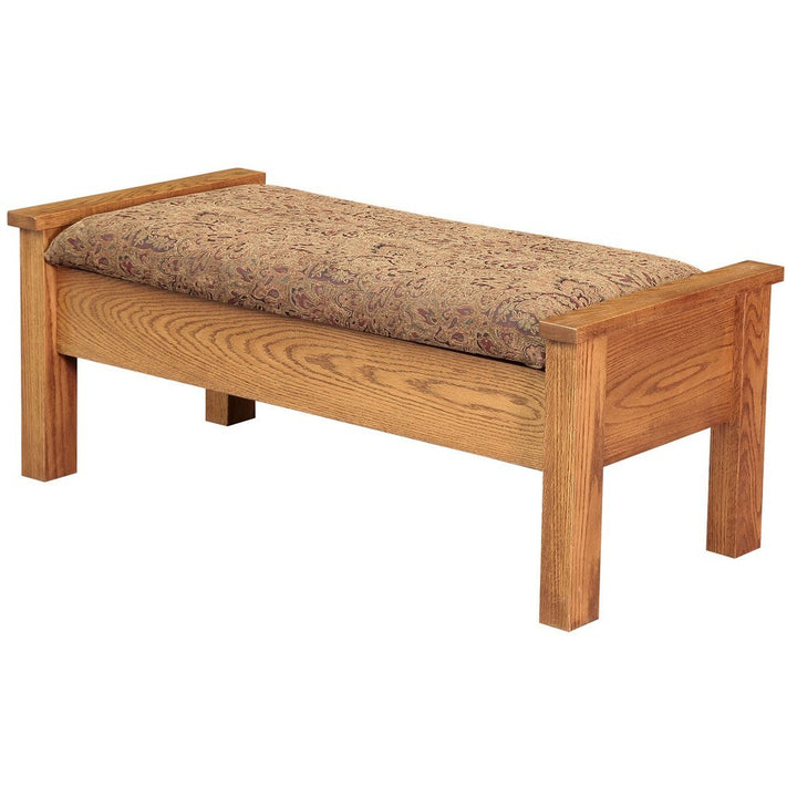 Traditional Bed Seat - Amish Tables  - 1