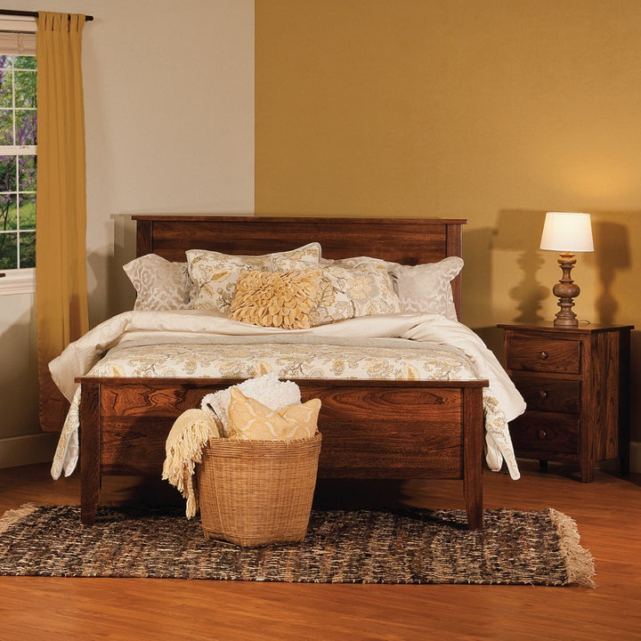 Shaker Bed Amish Beds And Headboards Amish Tables