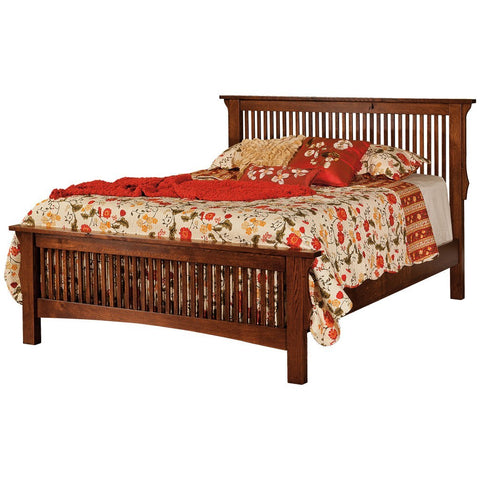 Stick Mission Bed - Amish Tables  - 1