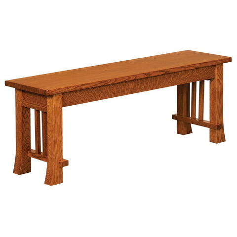 Grant Extendable Bench - Amish Tables  - 1