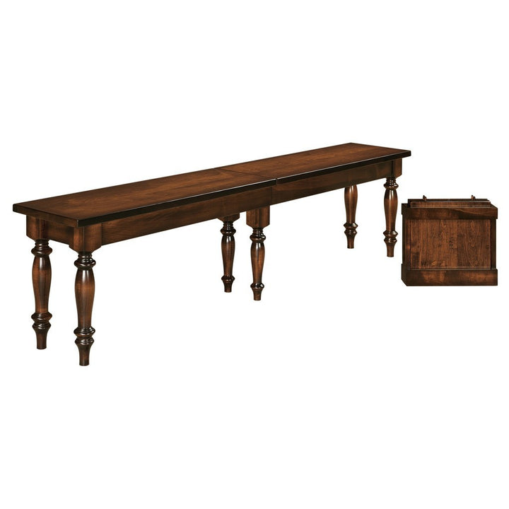 Harvest Extendable Bench - Amish Tables  - 1