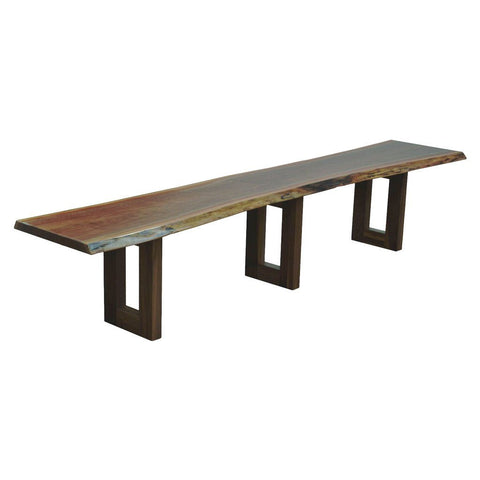 Kalispel Live Edge Bench - Amish Tables  - 1