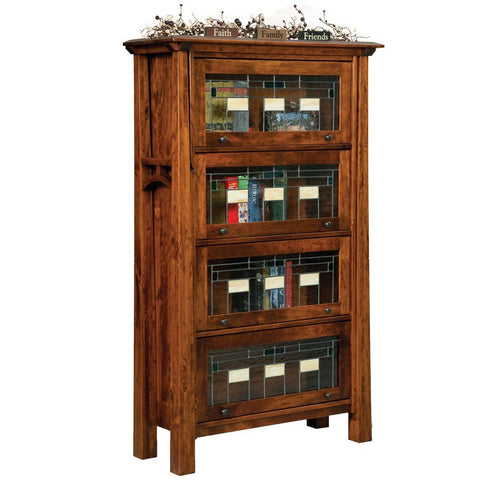 Artesa Barister Bookcase - Amish Tables  - 1