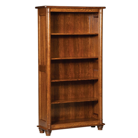 Belmont Bookcase - Amish Tables  - 1