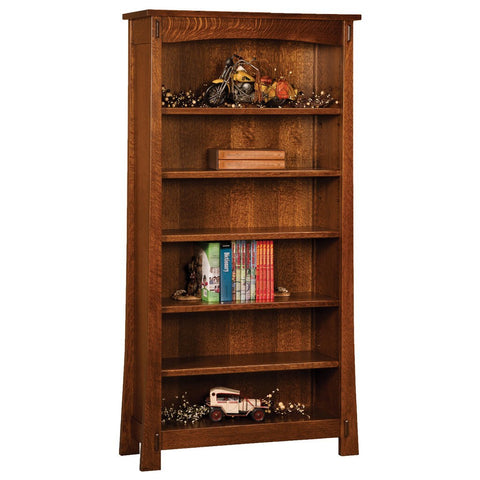 Modesto Bookcase - Amish Tables  - 1