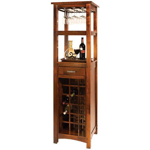 Brunswick Wine Cabinet - Amish Tables  - 1