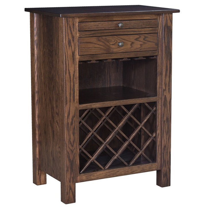 Dillon Wine Cabinet - Amish Tables  - 1