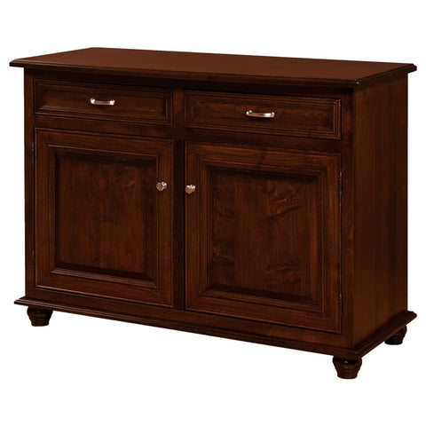 Raber Leaf Storage Buffet - Amish Tables  - 1