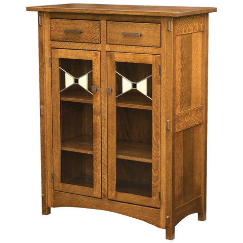 Crestline Cabinet - Amish Tables  - 1