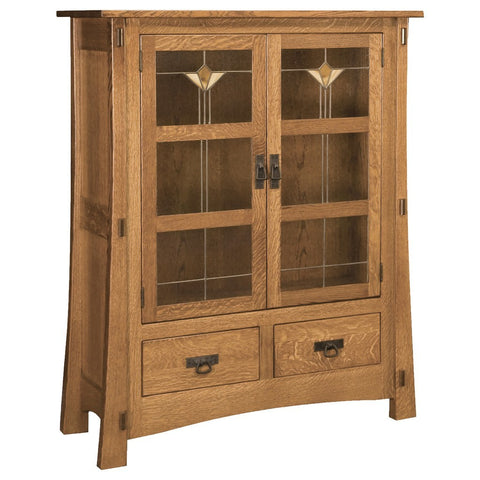 Modesto Cabinet - Amish Tables  - 1