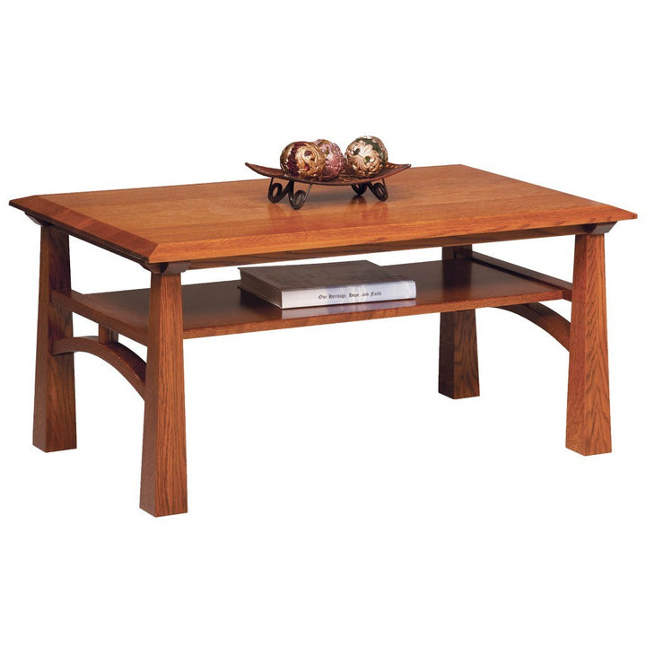 Artesa Coffee Table - Amish Tables  - 1