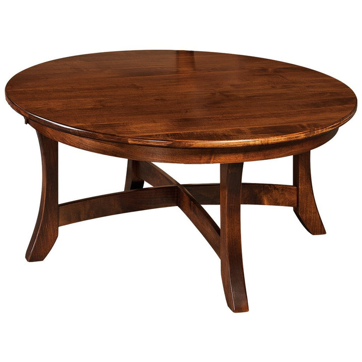 Carona Coffee Table Solid Wood Accent Tables Amish Tables
