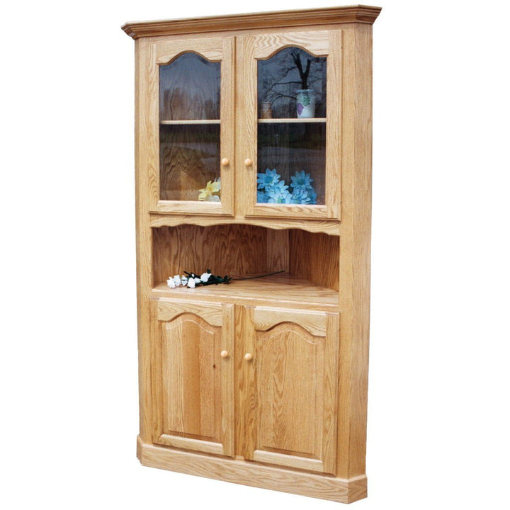 LaGrange Corner Cabinet - Amish Tables  - 1