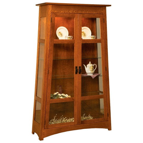 Atwood Curio - Amish Tables  - 1