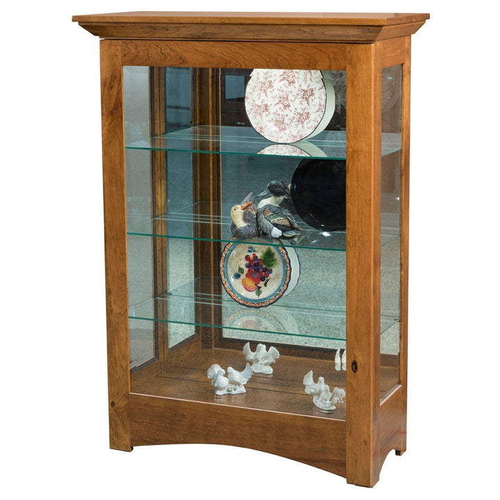 Leda Curio Cabinet - Amish Tables  - 5