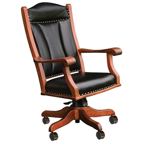 Office Desk Chair - Amish Tables  - 1