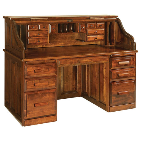 Roll Top Desk - Amish Tables  - 1
