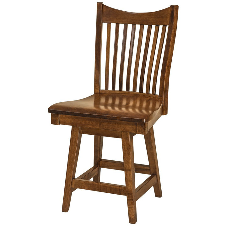 Barkley Dining Chair Amish Solid Wood Dining Chairs